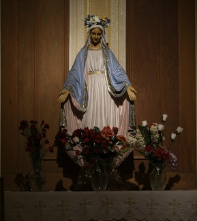 Blessed Mother Altar
